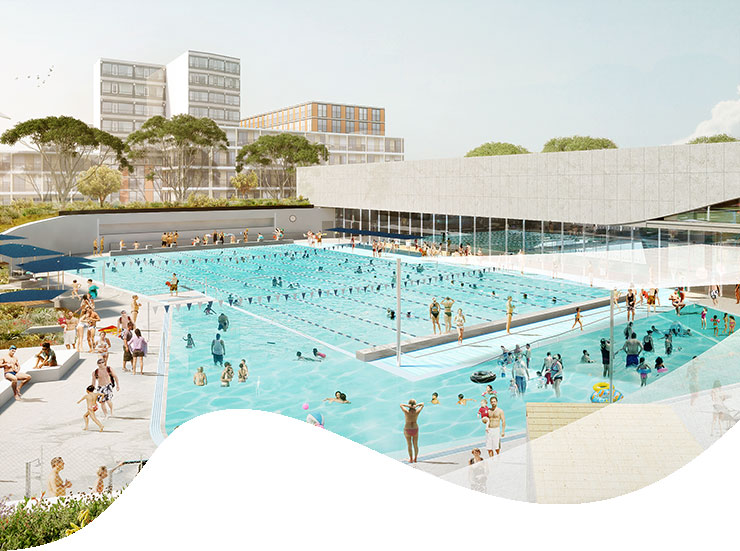 The largest pool complex built in Sydney since the 2000 Olympics will be heated by our Cogeneration system.