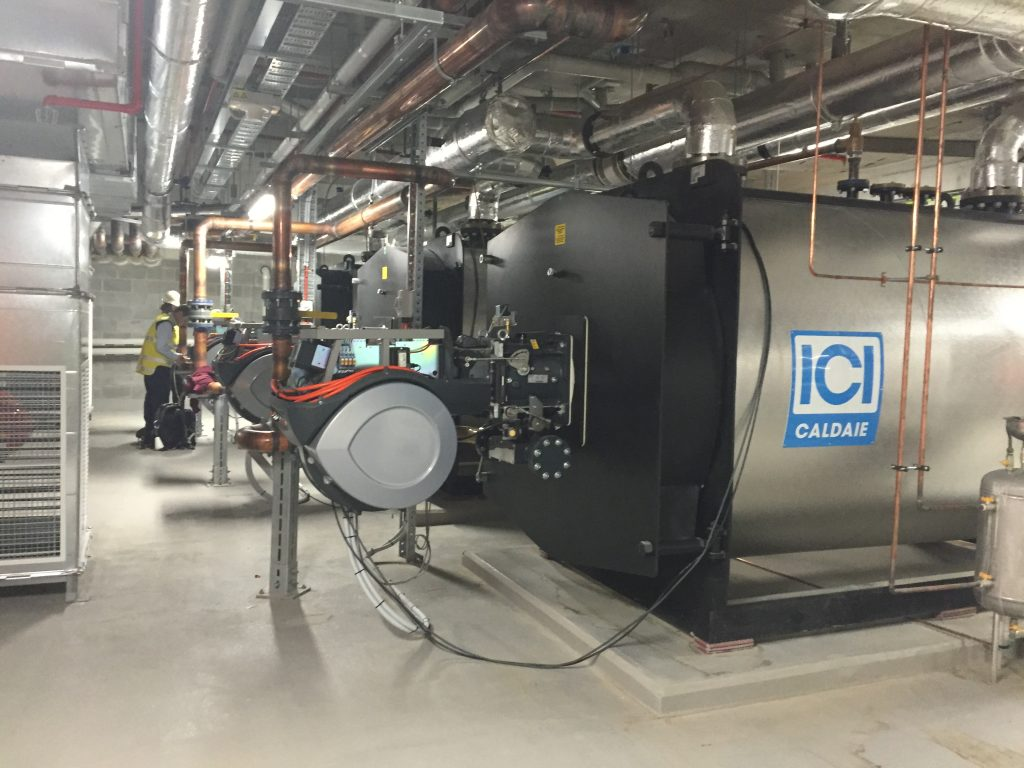 Successful Commissioning of 3 x 3000kW Hot Water Boiler/ Heaters