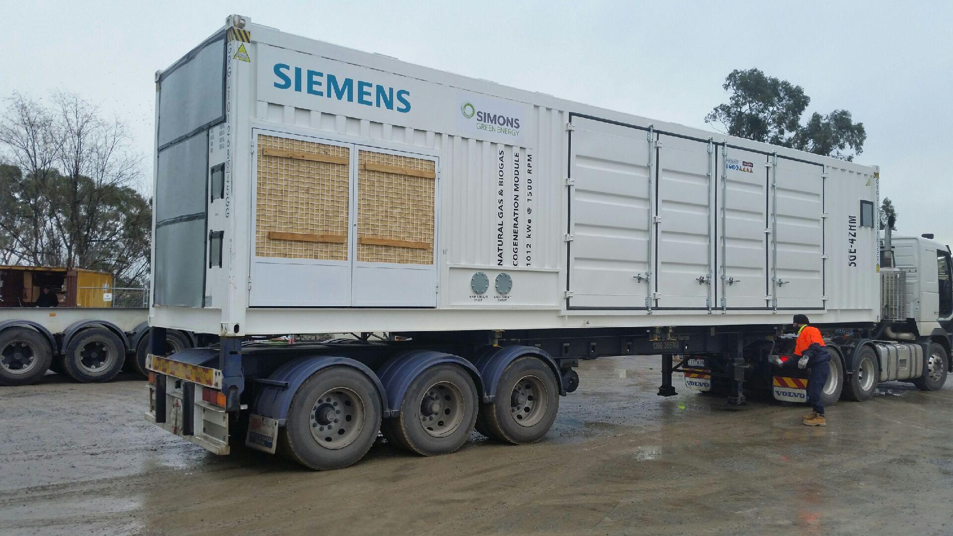 Biogas + Cogeneration